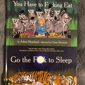"""Two funny """"inappropriate"""" books"""
